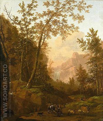 Berling Hofmaler des Kurfuersten Von Brandenburg - Abraham Jansz Begeyn reproduction oil painting