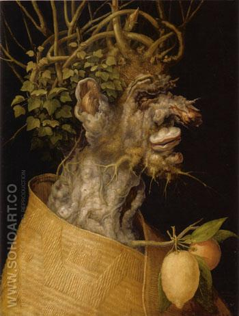 Winter 1563 2 - Giuseppe Arcimboldo reproduction oil painting