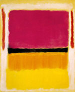 Violet, Black Orange,Yellow on White and Red 1949 - Mark Rothko