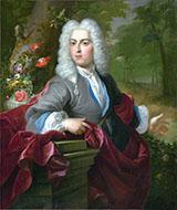 Portrait of a Man - Abraham Mignon reproduction oil painting
