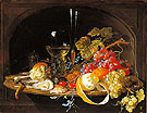 Fruits Oysters - Abraham Mignon