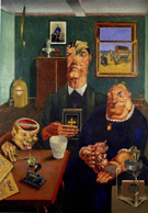 Industrial Farm Family 1920 - George Scholz