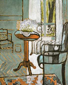 The Window (Interior with Forget-Me-Nots) 1916 - Henri Matisse reproduction oil painting