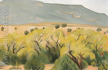 Cottonwood III 1943 - Georgia O'Keeffe reproduction oil painting