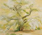Cottonwoods Near Abiquiu 1950 - Georgia O'Keeffe