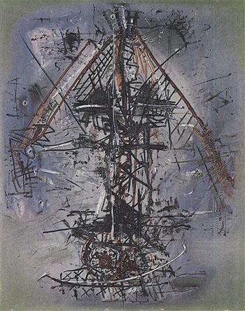 Le Bateau Ivre - Wols reproduction oil painting