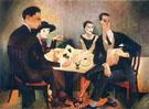 Self Portrait in a Group 1925 - Jose de Almada Negreiros