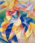 Sea Dancer 1914 - Gino Severini