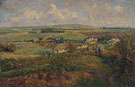 Rainbow Pontoise 1877 - Camille Pissarro reproduction oil painting