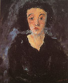 Portrait of a Woman c1929 - Chaim Soutine