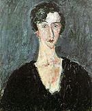 Portrait of Madeleine Castaing Maria Lani c1929 - Chaim Soutine