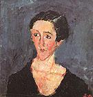 Portrait of Madame Castaing c1929 - Chaim Soutine