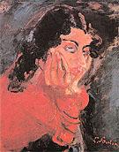 Woman Leaning c1937 - Chaim Soutine