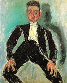 The Groom c1924 - Chaim Soutine