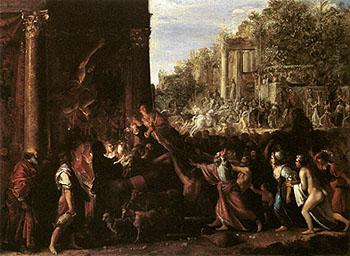 Contento II c1607 - Adam Elsheimer reproduction oil painting