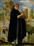 Saint Thomas Aquinas - Adam Elsheimer