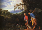 Tobias and Raphael returning with Fish - Adam Elsheimer