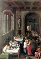 Die Heilige Elisabeth betreut die Kranken 1597 - Adam Elsheimer