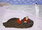 Chilly Girls by the Sea 1944 - Milton Avery