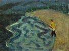 Man Fishing 1938 - Milton Avery