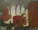 Smokestacks c1930 - Milton Avery