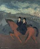 Sunday Riders 1929 - Milton Avery