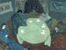 The Group after Dinner Coffee 1939 - Milton Avery