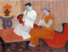 The Musicians 1949 - Milton Avery reproduction oil painting