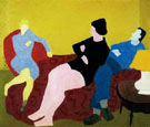 Three Friends 1944 - Milton Avery reproduction oil painting
