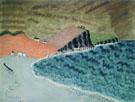 Gaspe Landscape Neuberger Marie 1943 - Milton Avery reproduction oil painting