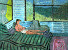 Interior with Figure 1938 - Milton Avery reproduction oil painting