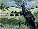 Landscape with Tree - Milton Avery