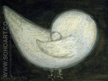 Pigeon 1956 - Milton Avery reproduction oil painting