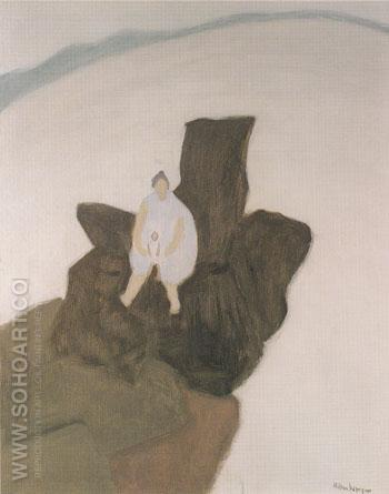 Madonna of the Rocks 1957 - Milton Avery reproduction oil painting