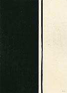 Black Fire 1961 - Barnett Newman