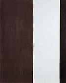 The Gate 1954 - Barnett Newman