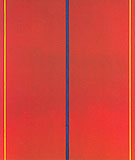 Whos Afraid of Red Yellow and Blue II 1967 - Barnett Newman