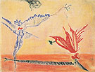 Untitled 1 1944 - Barnett Newman
