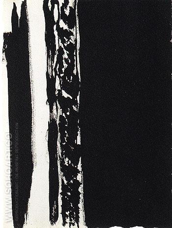 Untitled 70 1960 - Barnett Newman reproduction oil painting
