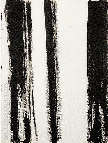 Untitled 68 1960 - Barnett Newman reproduction oil painting