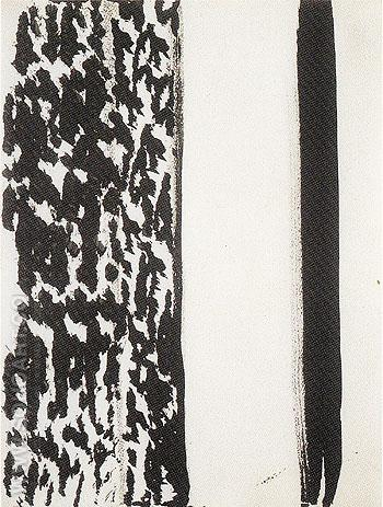 Untitled 69 1960 - Barnett Newman reproduction oil painting