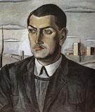 Portrait of Luis Bonuel 1924 - Salvador Dali