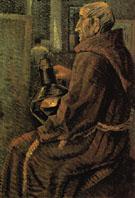 Seated Monk 1925 - Salvador Dali