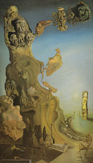 Impeial Monument to the Child Woman 1929 - Salvador Dali