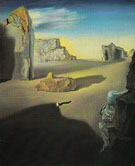 Shades of Night Descending 1931 - Salvador Dali