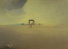 Phantom Waggon 1933 - Salvador Dali