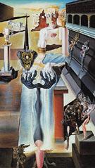 The Invisible Man c1929 - Salvador Dali
