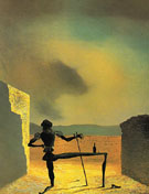 The Ghost of Vermeer of Delft Which Can Be Used as a Table 1934 - Salvador Dali