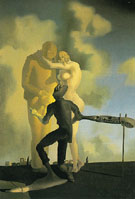 Meditation on the Harp c1932 - Salvador Dali