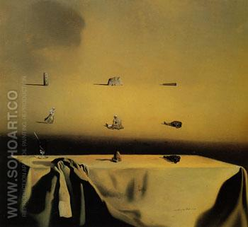 Morphological Echo 1936 - Salvador Dali reproduction oil painting